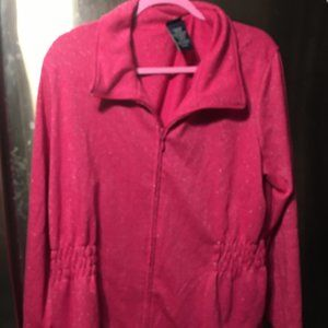 Basic Editions Glittery Pink Jacket  -249 $15 FIRM